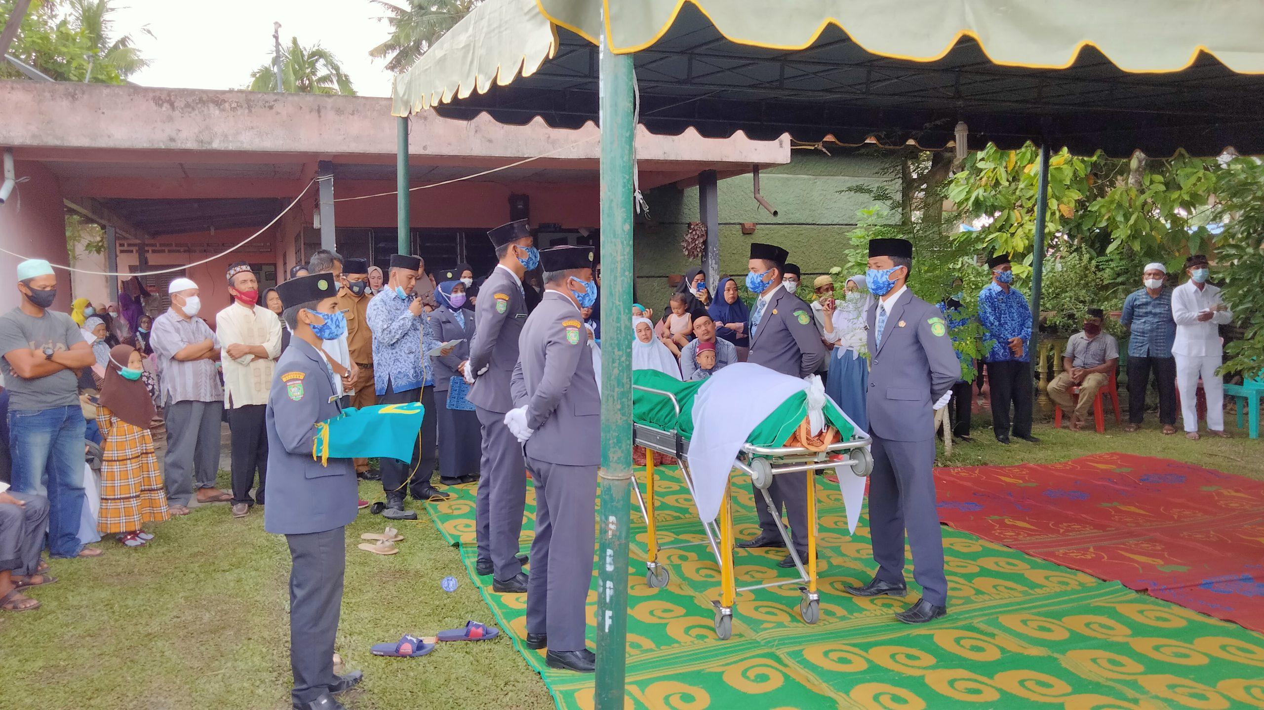 Upacara Pemakaman dilaksanakan KOPRI Asahan